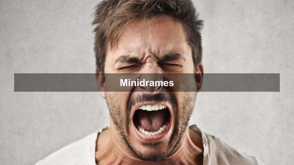 Utilisez les mini drames