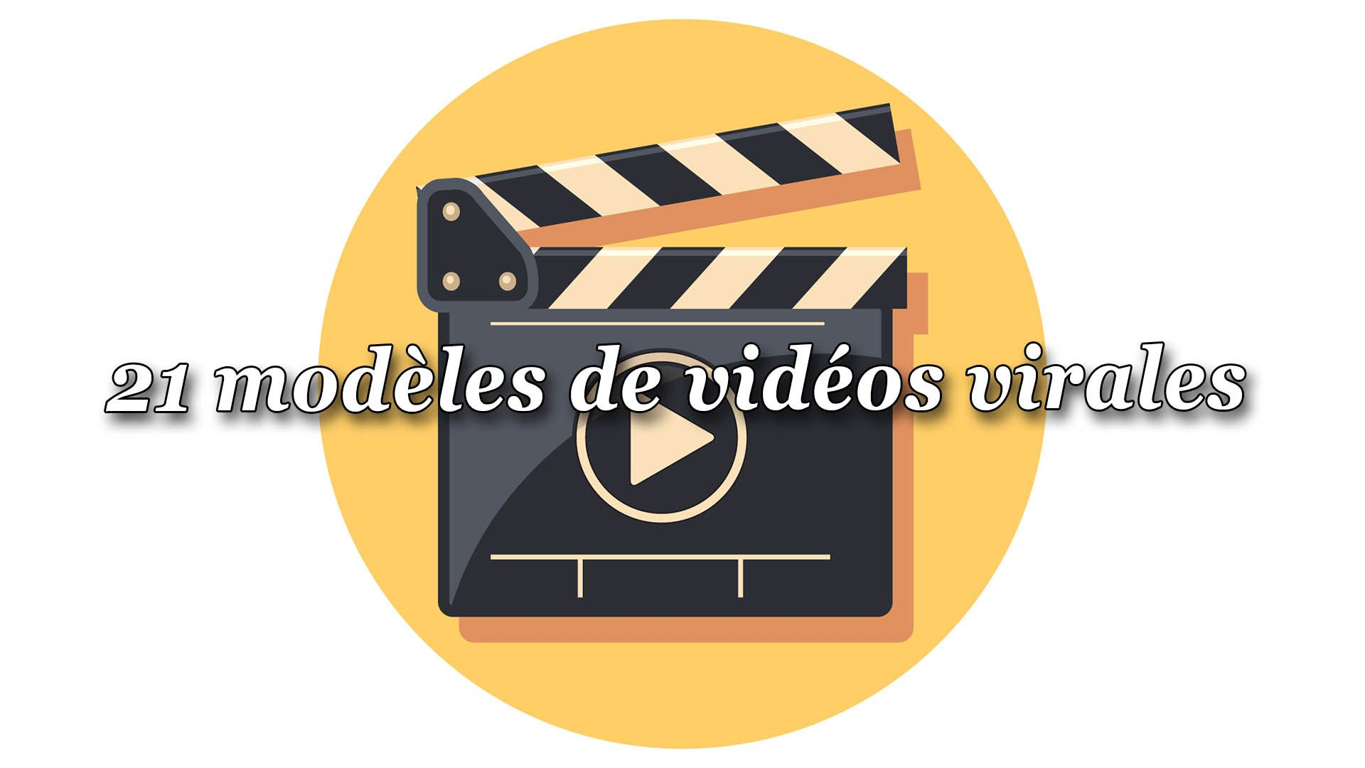21 modèles de vidéos virales #GrowthHacking #WEbMarketing #FormationGrowthHacking #CentreDeFormationFrance #TunnelAARRR #AARRR #SocialMedia #CommunityManagement #SEO