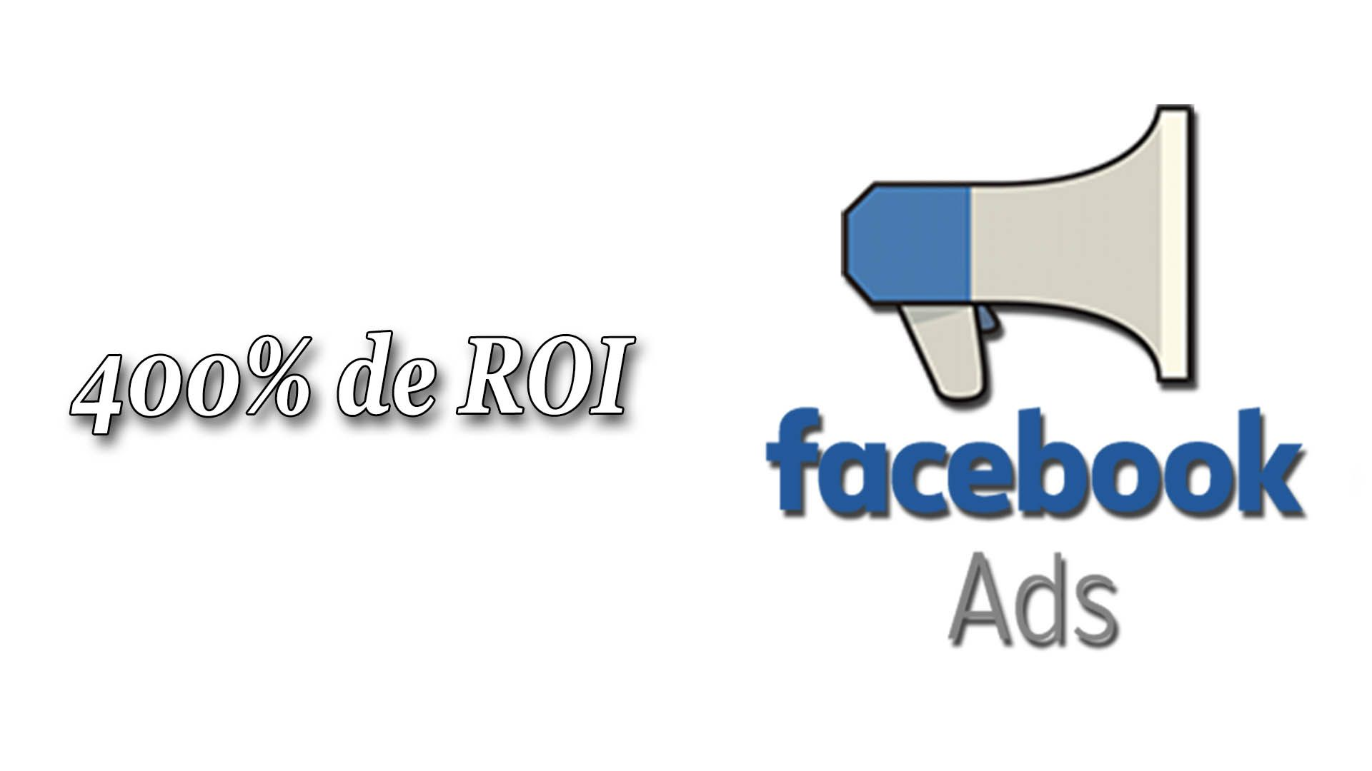 Cette publicité sur Facebook a généré un ROI de 400% #GrowthHacking #WEbMarketing #FormationGrowthHacking #CentreDeFormationFrance #TunnelAARRR #AARRR #SocialMedia #CommunityManagement #SEO #FacebookAds #acquisition #revenu #ROI
