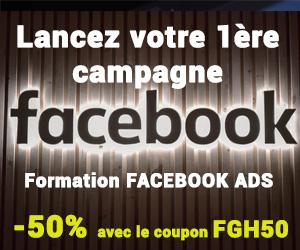 Formation pub facebook