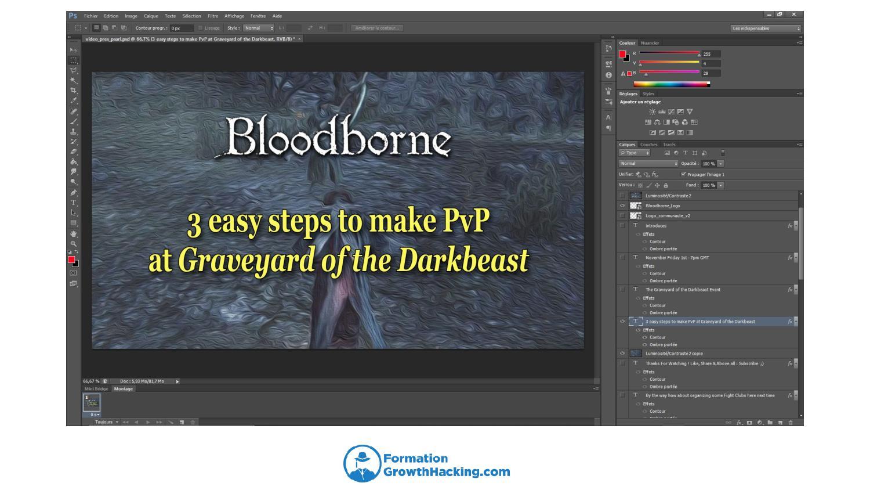 Photoshop est l'un des outils les plus efficaces pour créer des visuels de vignettes de vidéos YouTube. Néanmoins, Canva, Google Slide et PowerPoint font très bien l'affaire et sont gratuits.