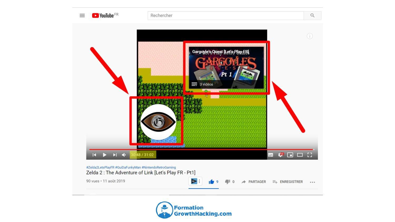 Créez des écrans de fin dans vos vidéos YouTube, afin d'inciter les gens à s'abonner à votre chaîne et à consulter d'autres contenus que vous proposez.