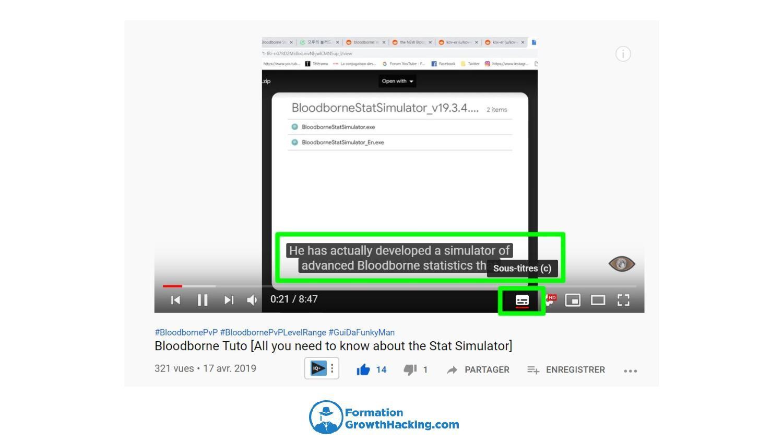 YouTube possède un système de transcription de plus en plus puissant.