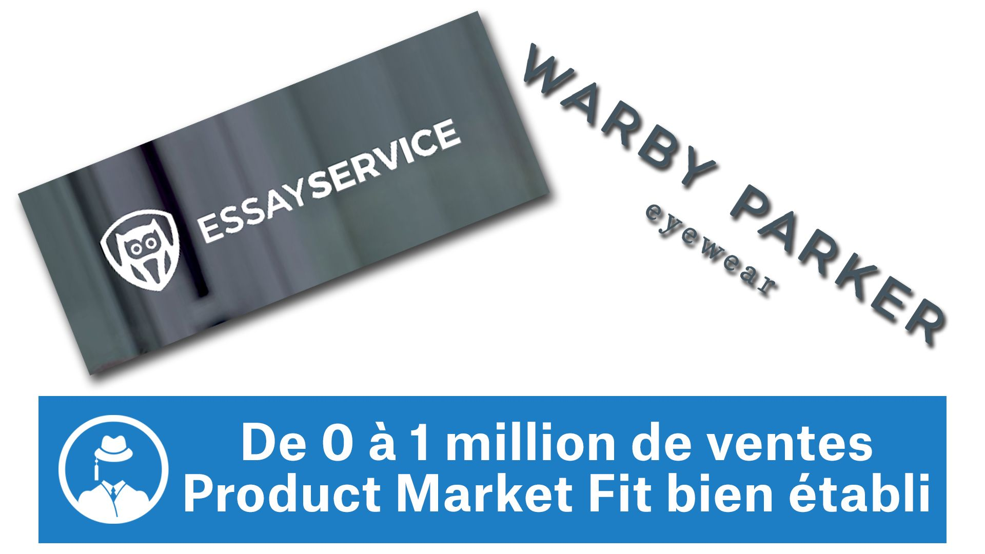 De 0 à 1 million de dollars de vente (EssayService / Warby Parker) #GrowthHacking #WebMarketing #FormationGrowthHacking #CentreDeFormationFrance #TunnelAARRR #AARRR #SocialMedia #CommunityManagement #SEO