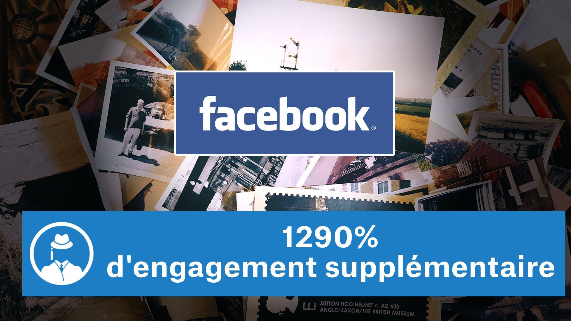 1290% d'engagement supplémentaire sur Facebook #GrowthHacking #WebMarketing #FormationGrowthHacking #CentreDeFormationFrance #TunnelAARRR #AARRR #SocialMedia #CommunityManagement #SEO #Facebook #FacebookTips