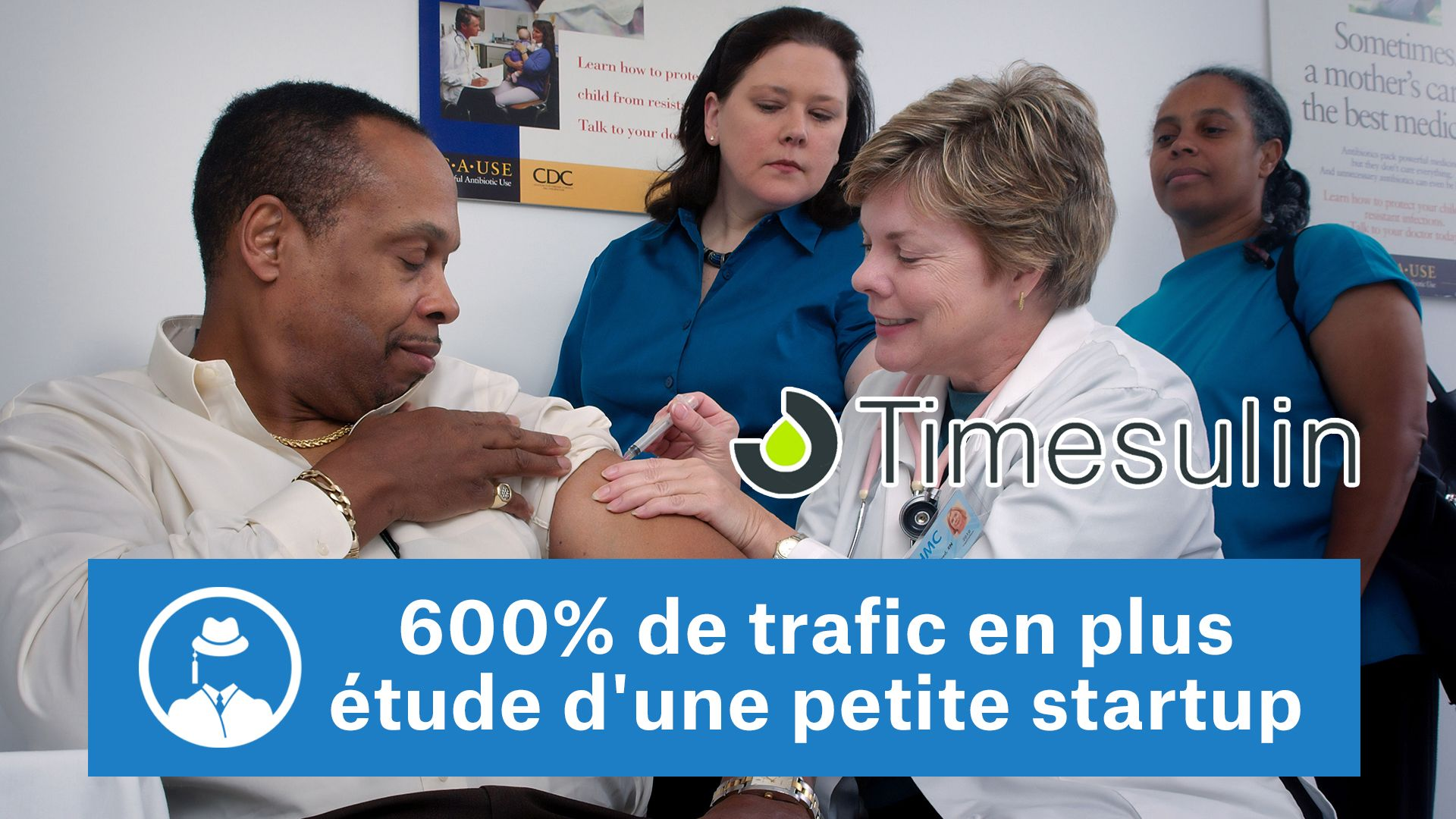 600% de trafic en plus : Etude d'une petite Startup #GrowthHacking #WebMarketing #FormationGrowthHacking #CentreDeFormationFrance #TunnelAARRR #AARRR #SocialMedia #CommunityManagement #SEO #Timesulin