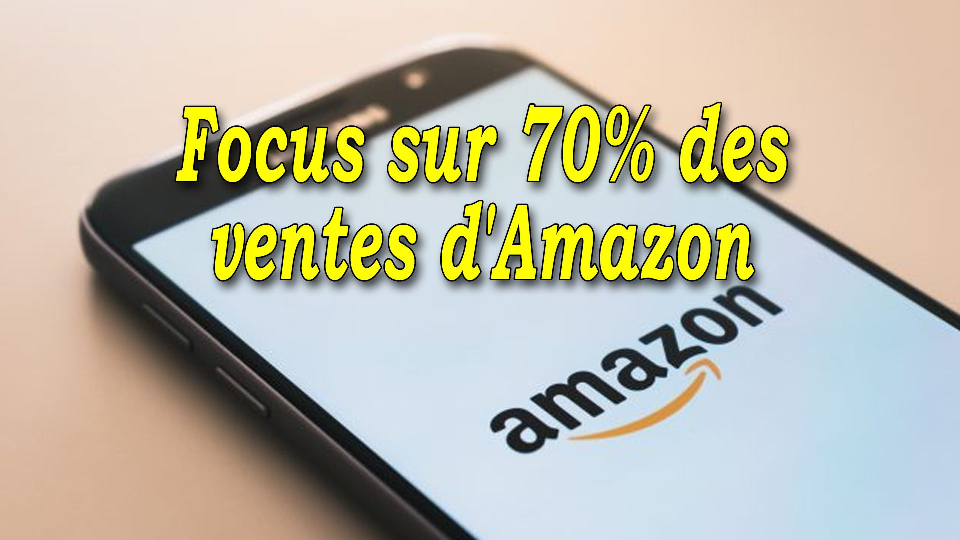 Focus sur 70% des ventes d'Amazon #GrowthHacking #WebMarketing #FormationGrowthHacking #CentreDeFormationFrance #TunnelAARRR #AARRR #SocialMedia #CommunityManagement #SEO #Amazon #AmazonSEO