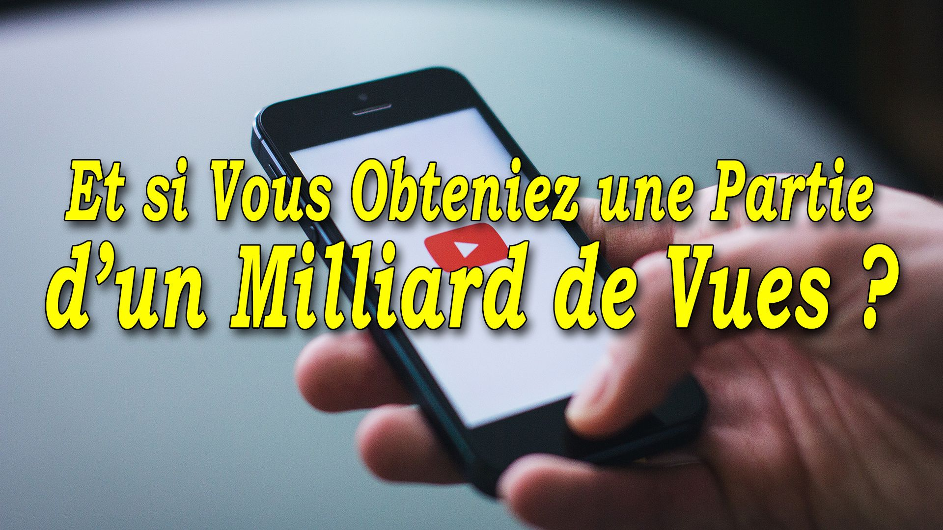Et si vous obteniez une partie d'un milliard de vues ? #GrowthHacking #WebMarketing #FormationGrowthHacking #CentreDeFormationFrance #TunnelAARRR #AARRR #SocialMedia #CommunityManagement #SEO #YouTube #YouTubeSEO