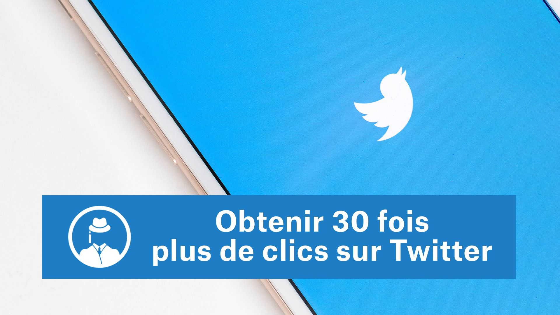 Obtenir 30 fois plus de clics sur Twitter #GrowthHacking #WebMarketing #FormationGrowthHacking #CentreDeFormationFrance #TunnelAARRR #AARRR #SocialMedia #CommunityManagement #SEO #Twitter
