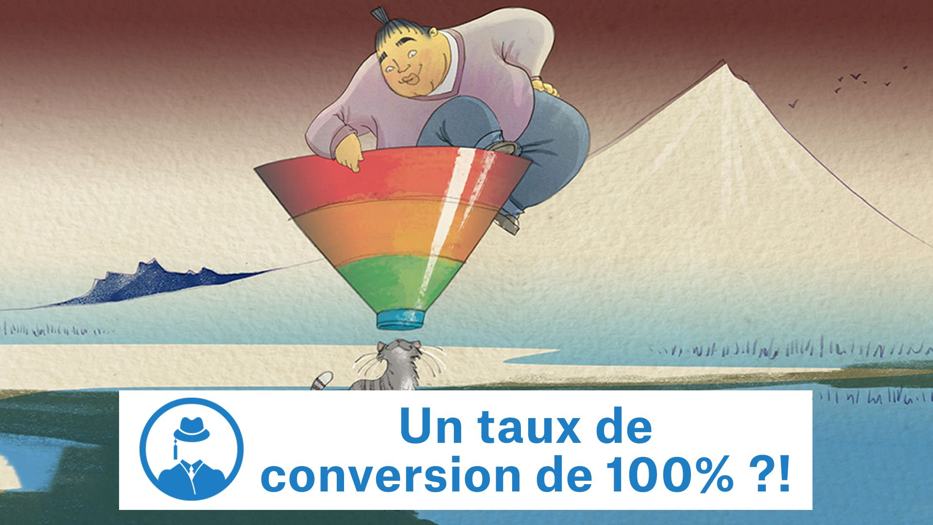 Un taux de conversion de 100% ?! #GrowthHacking #WebMarketing #FormationGrowthHacking #CentreDeFormationFrance #TunnelAARRR #AARRR #SocialMedia #CommunityManagement #SEO #MarketingDigital #SiteWeb