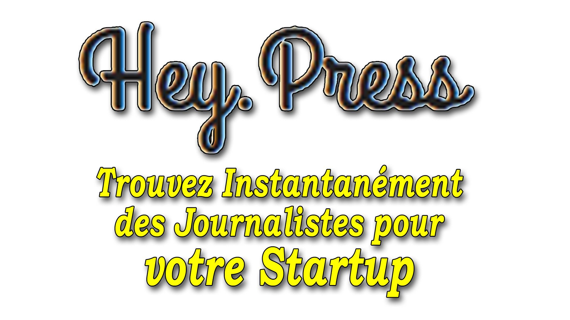 Trouver instantanément des journalistes pour sa startup #GrowthHacking #WebMarketing #FormationGrowthHacking #CentreDeFormationFrance #TunnelAARRR #AARRR #SocialMedia #CommunityManagement #SEO #HeyPress
