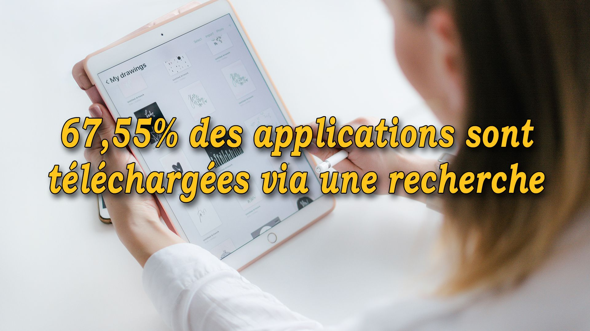 67,55% des applications sont téléchargées via une recherche #GrowthHacking #WebMarketing #FormationGrowthHacking #CentreDeFormationFrance #TunnelAARRR #AARRR #SocialMedia #CommunityManagement #SEO #app