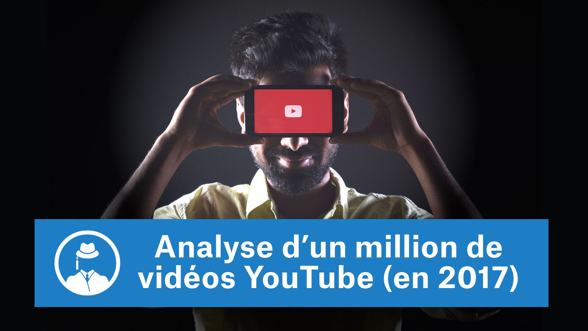 Analyse d'un millions de vidéos YouTube (en 2017) #GrowthHacking #WebMarketing #FormationGrowthHacking #CentreDeFormationFrance #TunnelAARRR #AARRR #SocialMedia #CommunityManagement #SEO #MarketingDigital #SiteWeb #YouTubeSEO #YouTube
