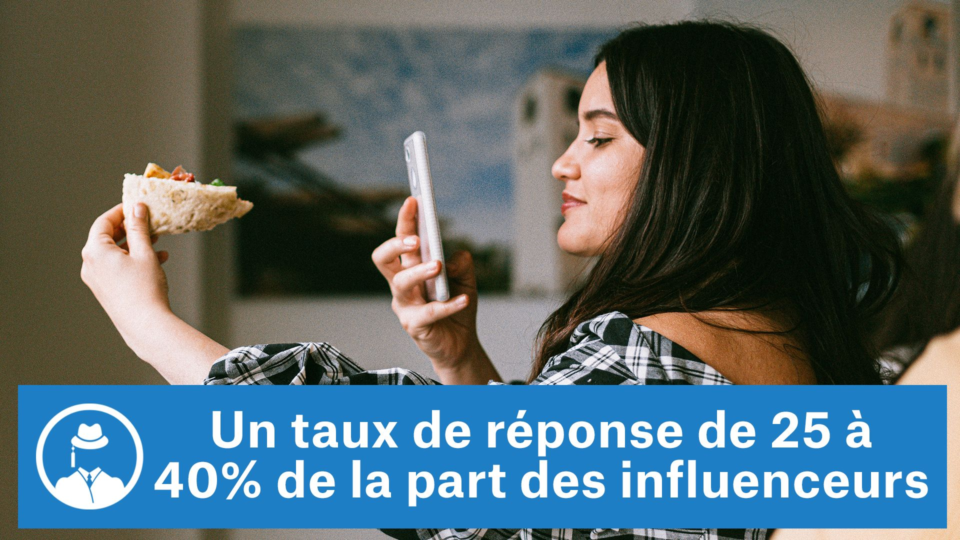 Un taux de réponse de 25 à 40% de la part des influenceurs #GrowthHacking #WebMarketing #FormationGrowthHacking #CentreDeFormationFrance #TunnelAARRR #AARRR #SocialMedia #CommunityManagement #SEO
