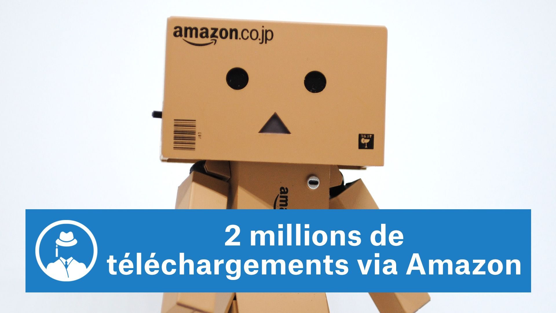2 millions de téléchargements via Amazon #GrowthHacking #WebMarketing #FormationGrowthHacking #CentreDeFormationFrance #TunnelAARRR #AARRR #SocialMedia #CommunityManagement #SEO #MarketingDigital #SiteWeb