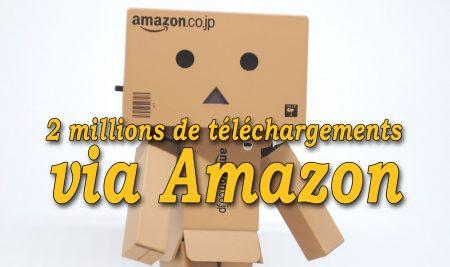 2 millions de téléchargements via Amazon