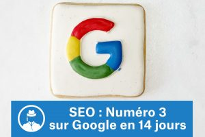 SEO : numéro 3 sur Google en 14 jours #GrowthHacking #WebMarketing #FormationGrowthHacking #CentreDeFormationFrance #TunnelAARRR #AARRR #SocialMedia #CommunityManagement #SEO #MarketingDigital #SiteWeb