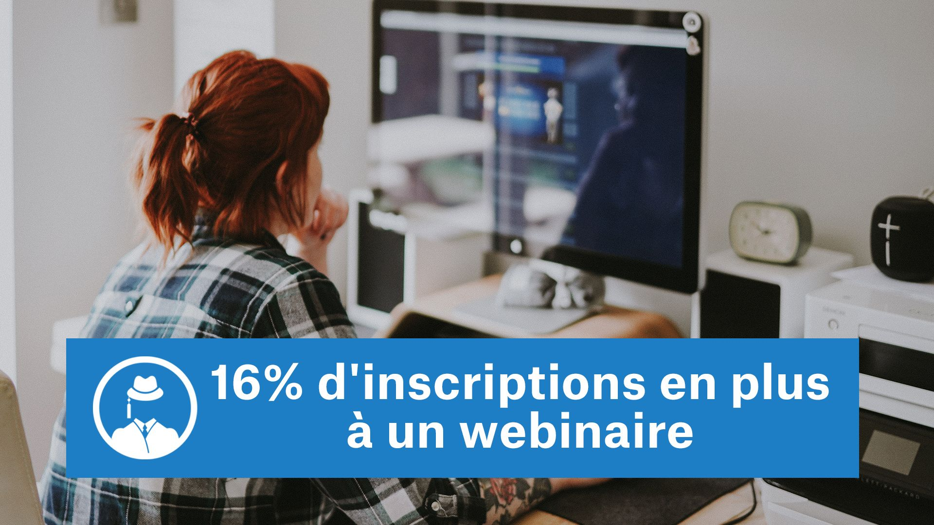 16% d'inscriptions en plus à un webinaire #GrowthHacking #WebMarketing #FormationGrowthHacking #CentreDeFormationFrance #TunnelAARRR #AARRR #SocialMedia #CommunityManagement #SEO #MarketingDigital #SiteWeb