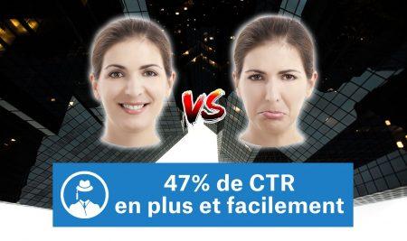 47% de CTR en plus facilement [98% ne l'utilisent pas]