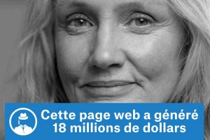 Cette page a généré 18 millions de dollars #GrowthHacking #WebMarketing #FormationGrowthHacking #CentreDeFormationFrance #TunnelAARRR #AARRR #SocialMedia #CommunityManagement #SEO #MarketingDigital #SiteWeb