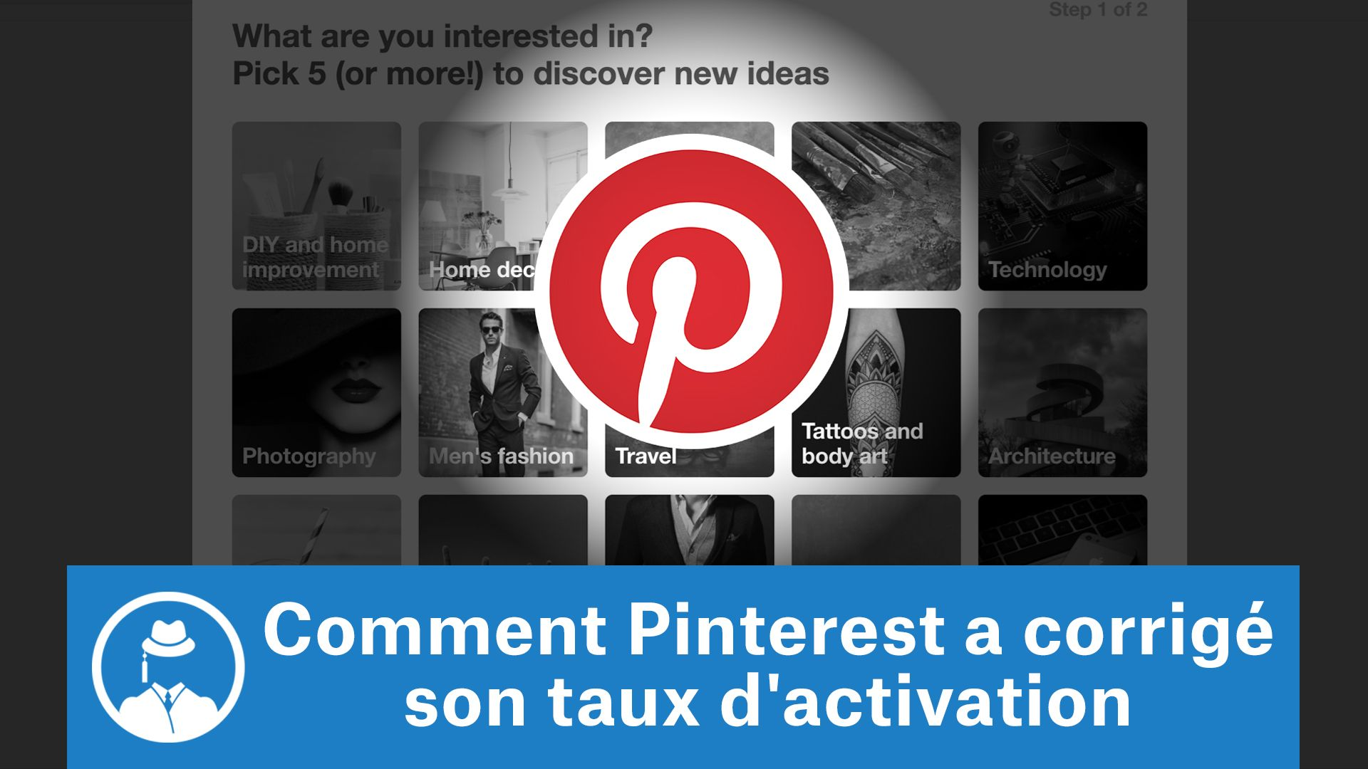 Comment Pinterest a corrigé son taux d'activation #GrowthHacking #WebMarketing #FormationGrowthHacking #CentreDeFormationFrance #TunnelAARRR #AARRR #SocialMedia #CommunityManagement #SEO #MarketingDigital #SiteWeb #Pinterest