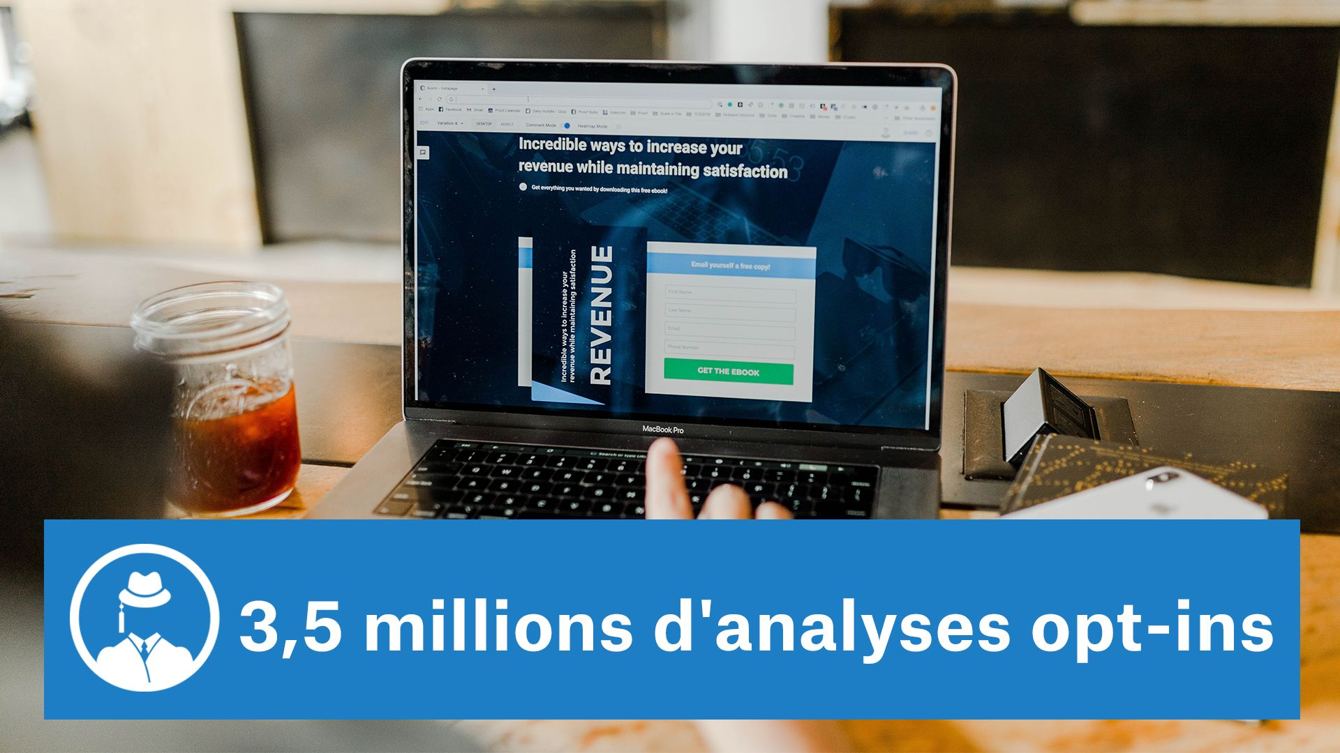 3,5 millions d'analyses opt-ins #GrowthHacking #WebMarketing #FormationGrowthHacking #CentreDeFormationFrance #TunnelAARRR #AARRR #SocialMedia #CommunityManagement #SEO #MarketingDigital #SiteWeb