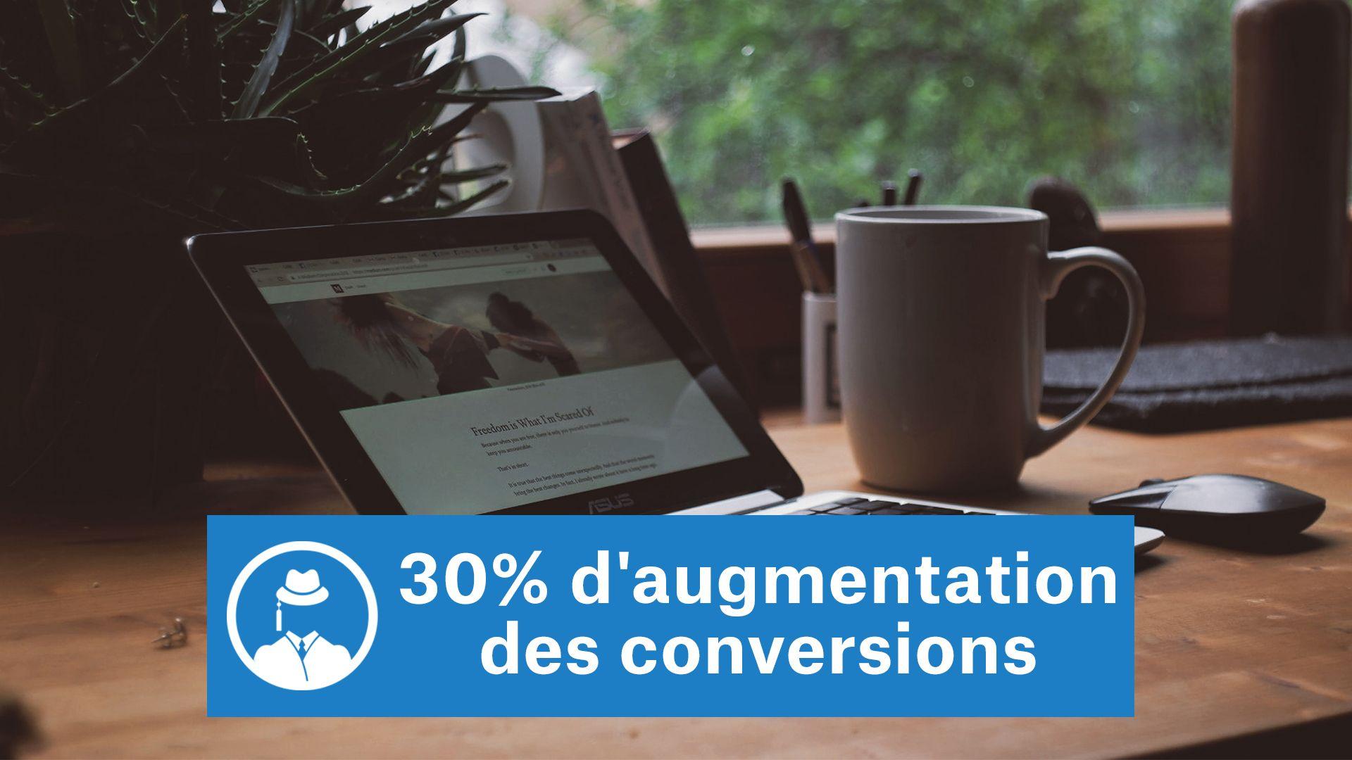 30% d'augmentation des conversions [une petite modification] #GrowthHacking #WebMarketing #FormationGrowthHacking #CentreDeFormationFrance #TunnelAARRR #AARRR #SocialMedia #CommunityManagement #SEO #MarketingDigital #SiteWeb #copywriting