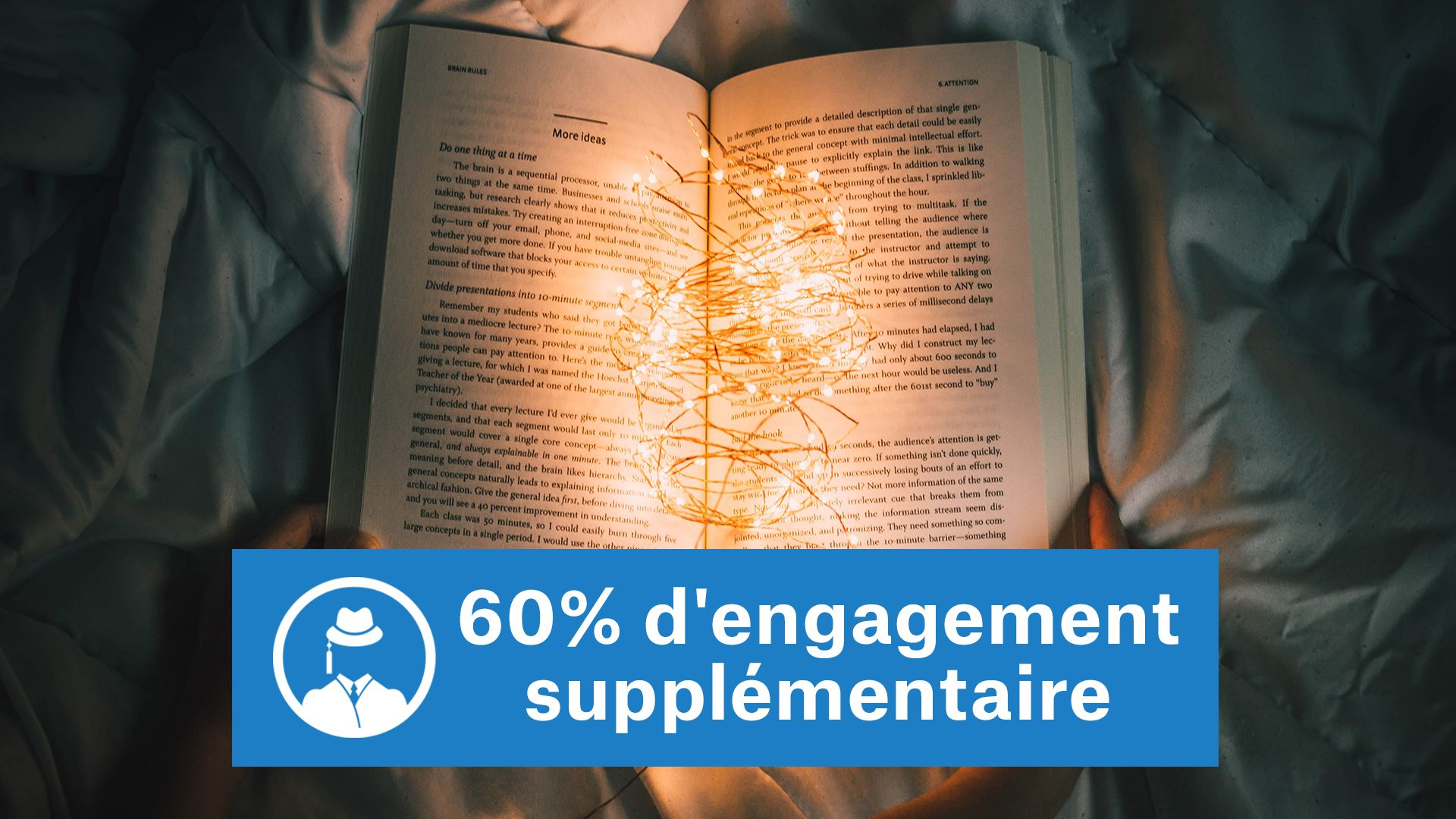 60% d'engagement supplémentaire [recherche de données] #GrowthHacking #WebMarketing #FormationGrowthHacking #CentreDeFormationFrance #TunnelAARRR #AARRR #SocialMedia #CommunityManagement #SEO #MarketingDigital #SiteWeb