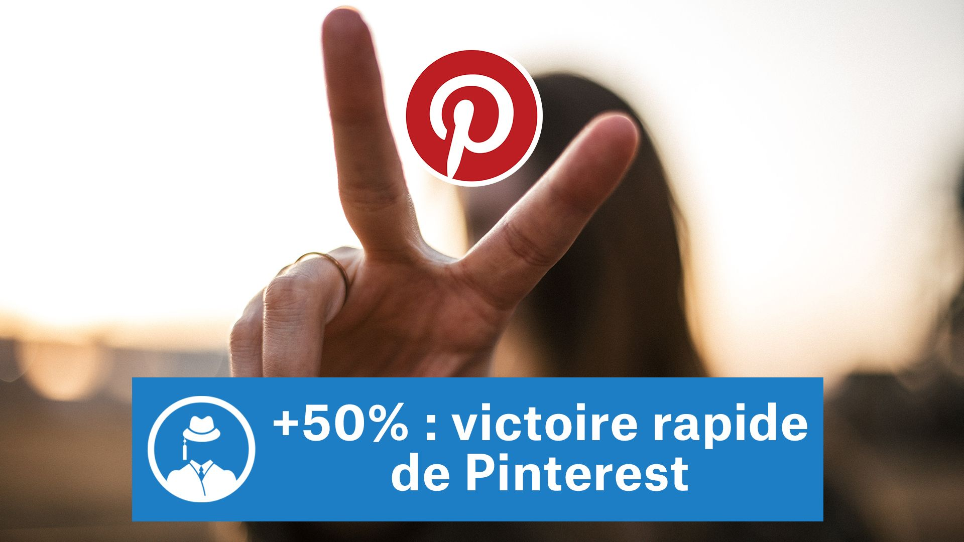 +50% : victoire rapide de Pinterest #GrowthHacking #WebMarketing #FormationGrowthHacking #CentreDeFormationFrance #TunnelAARRR #AARRR #SocialMedia #CommunityManagement #SEO #MarketingDigital #SiteWeb #Pinterest