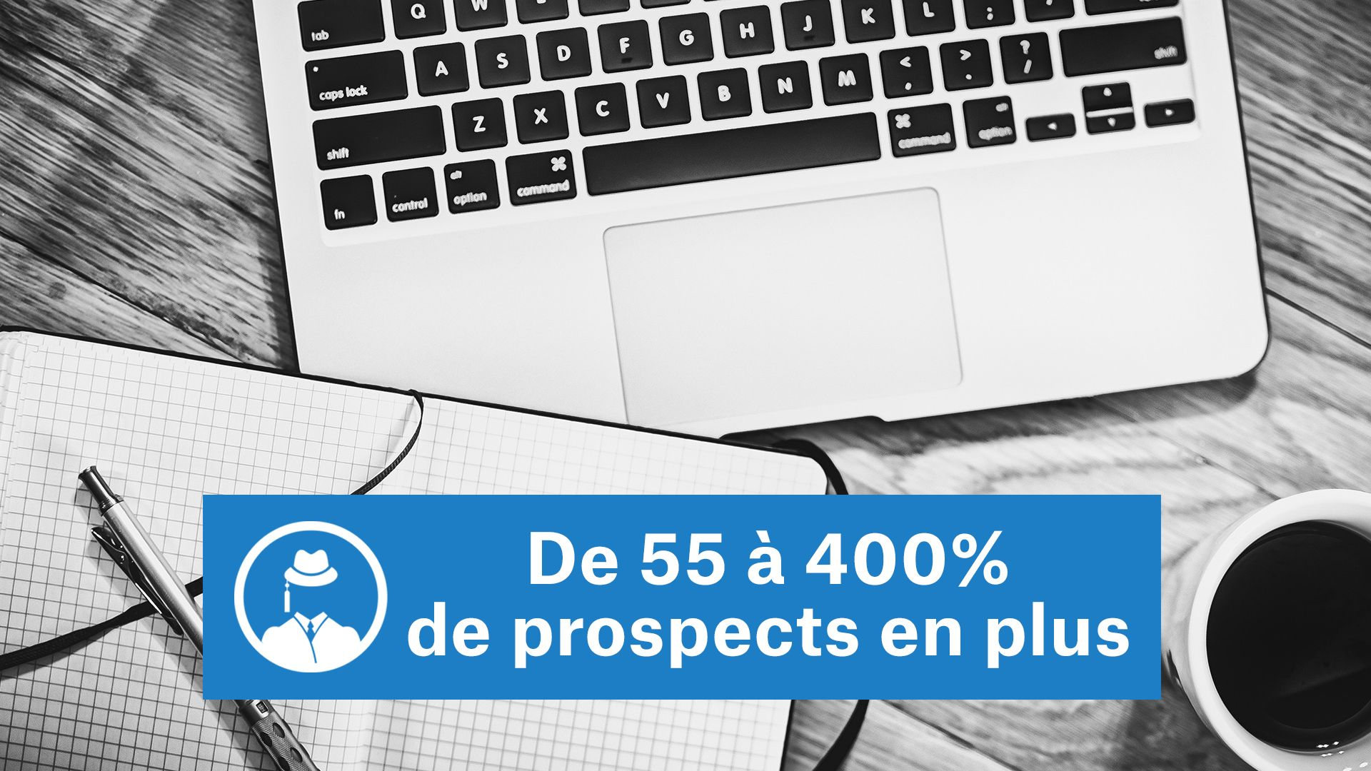 De 55 à 400% de prospects en plus #GrowthHacking #WebMarketing #FormationGrowthHacking #CentreDeFormationFrance #TunnelAARRR #AARRR #SocialMedia #CommunityManagement #SEO #MarketingDigital #SiteWeb