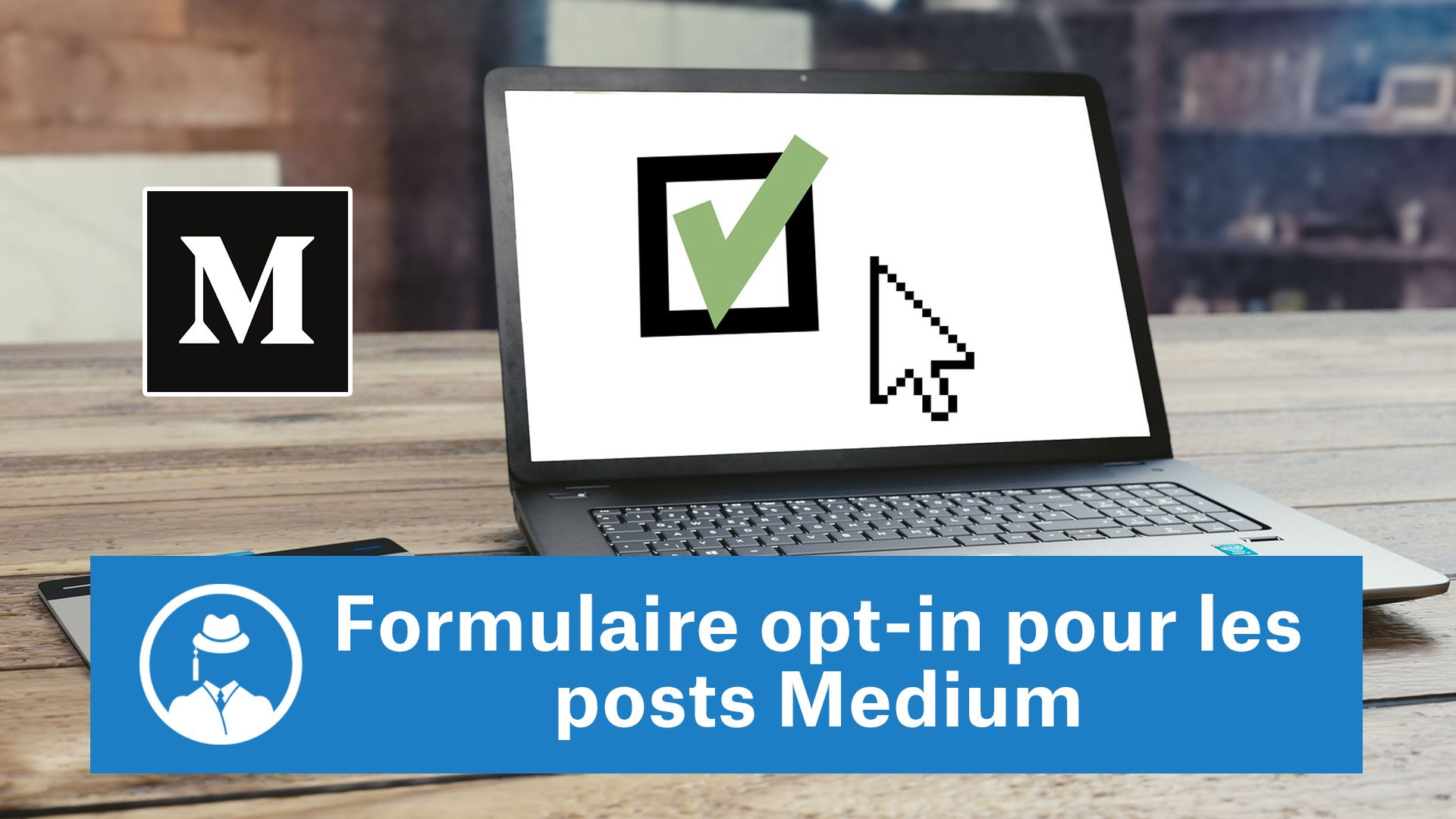 Formulaire opt-in pour les posts Medium #GrowthHacking #WebMarketing #FormationGrowthHacking #CentreDeFormationFrance #TunnelAARRR #AARRR #SocialMedia #CommunityManagement #SEO #MarketingDigital #SiteWeb