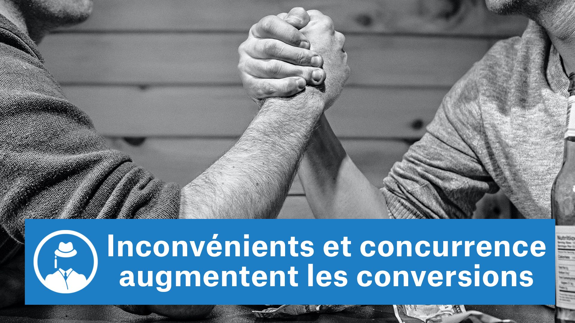 Inconvénients et concurrence augmentent les conversions #GrowthHacking #WebMarketing #FormationGrowthHacking #CentreDeFormationFrance #TunnelAARRR #AARRR #SocialMedia #CommunityManagement #SEO #MarketingDigital #SiteWeb