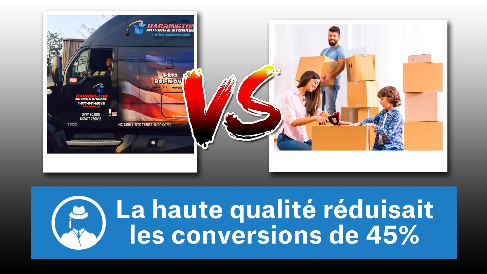 La grande qualité réduisait les conversions de 45% #GrowthHacking #WebMarketing #FormationGrowthHacking #CentreDeFormationFrance #TunnelAARRR #AARRR #SocialMedia #CommunityManagement #SEO #MarketingDigital #SiteWeb