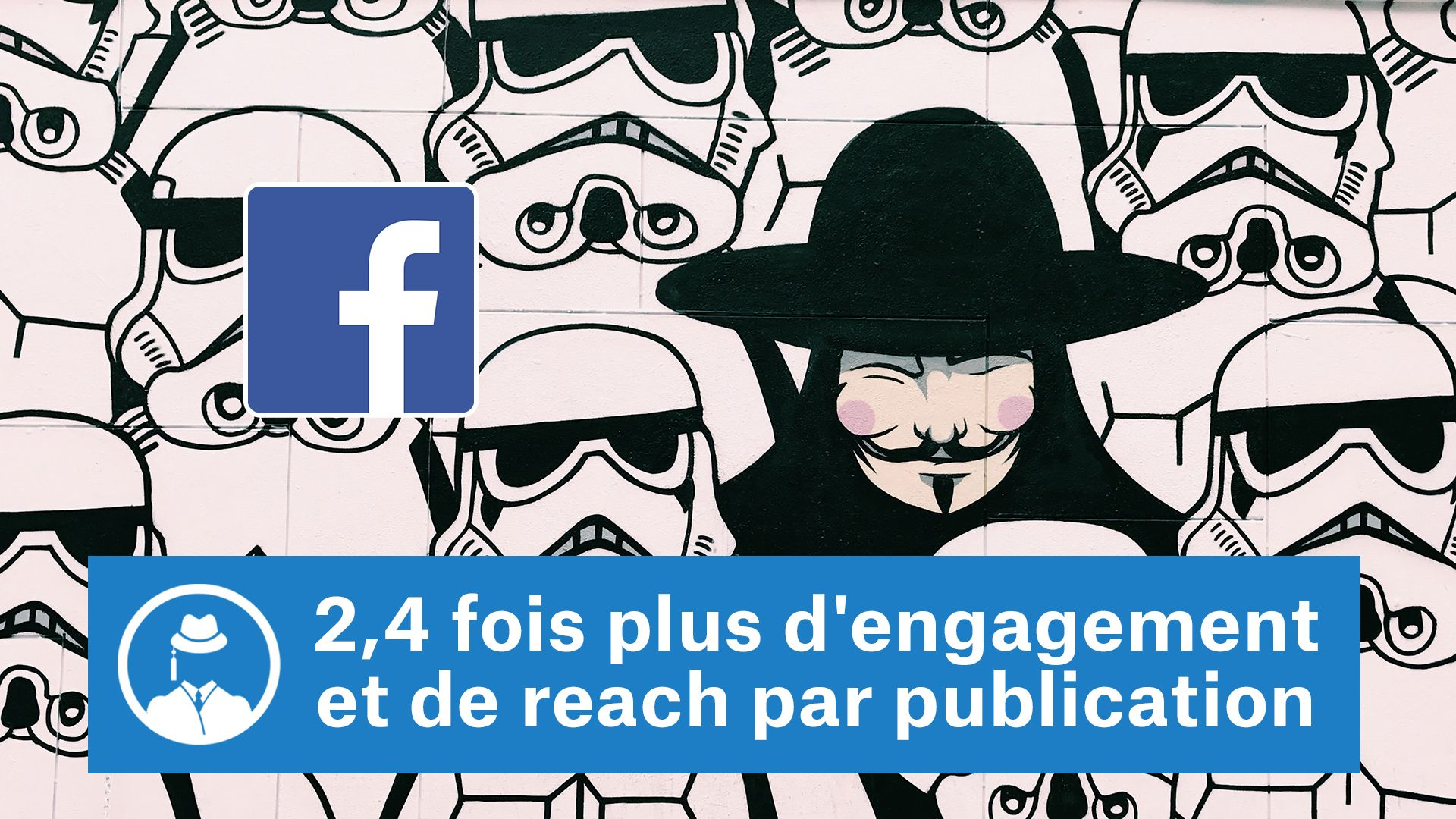 2,4 fois plus d'engagement et de reach par publication #GrowthHacking #WebMarketing #FormationGrowthHacking #CentreDeFormationFrance #TunnelAARRR #AARRR #SocialMedia #CommunityManagement #SEO #MarketingDigital #SiteWeb #Facebook