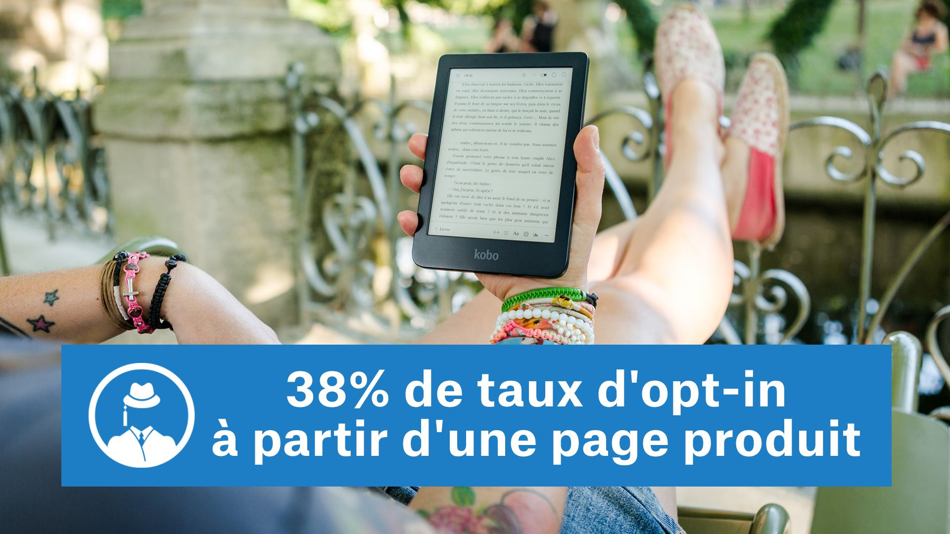 38% de taux d'opt-in à partir d'une page produit #GrowthHacking #WebMarketing #FormationGrowthHacking #CentreDeFormationFrance #TunnelAARRR #AARRR #SocialMedia #CommunityManagement #SEO #MarketingDigital #SiteWeb