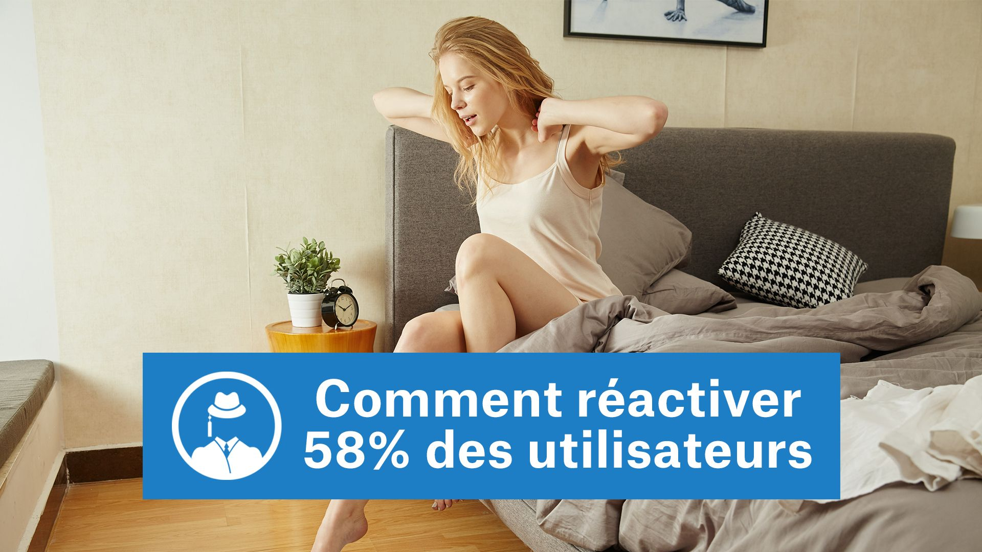 Comment réactiver 58% des utilisateurs #GrowthHacking #WebMarketing #FormationGrowthHacking #CentreDeFormationFrance #TunnelAARRR #AARRR #SocialMedia #CommunityManagement #SEO #MarketingDigital #SiteWeb