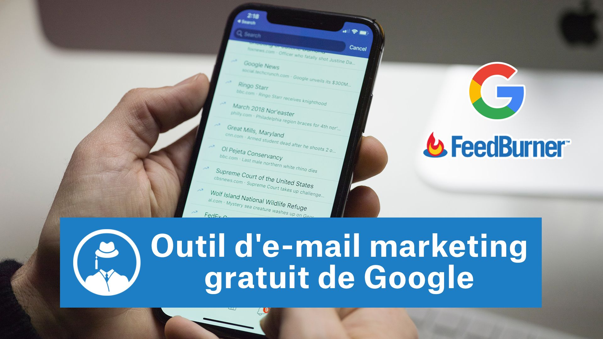Outil d'e-mail marketing gratuit de Google #GrowthHacking #WebMarketing #FormationGrowthHacking #CentreDeFormationFrance #TunnelAARRR #AARRR #SocialMedia #CommunityManagement #SEO #MarketingDigital #SiteWeb