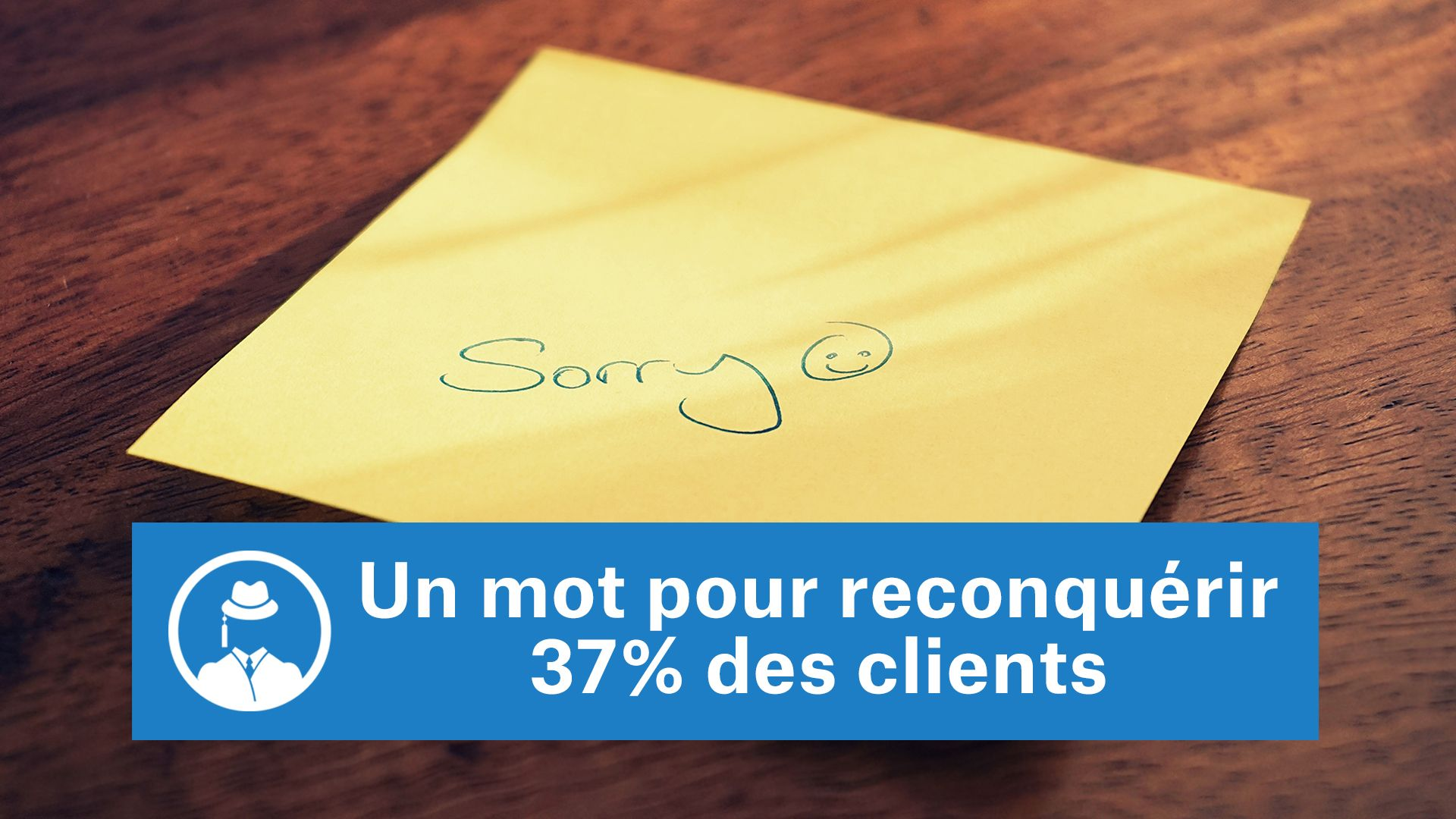 Un mot pour reconquérir 37% des clients #GrowthHacking #WebMarketing #FormationGrowthHacking #CentreDeFormationFrance #TunnelAARRR #AARRR #SocialMedia #CommunityManagement #SEO #MarketingDigital #SiteWeb